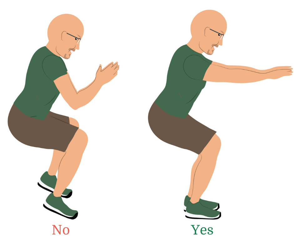 5 Reasons Why Your Knee Hurts When You Squat (and How to Fix it!) | Feel Good Life with Coach Todd